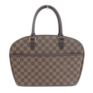 Genuine LOUIS VUITTON Louis Vuitton Damiers Sarria Horizont bag leather