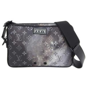 Genuine LOUIS VUITTON Louis Vuitton Monogram Galaxy Bum Bag Leather
