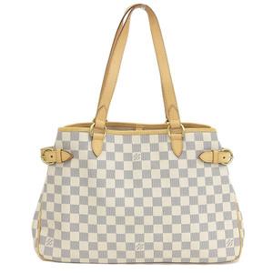 Genuine LOUIS VUITTON Louis Vuitton Damier Azul Batignolles Oriental Bag Leather