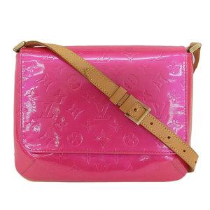 Genuine Louis Vuitton Verny Recital Shoulder Bag Pink Leather
