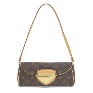Genuine LOUIS VUITTON Louis Vuitton Monogram Pochette Beverly 2WAY Bag Leather