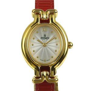 Genuine FENDI Fendi Change Belt Ladies Quartz Watch 640 L