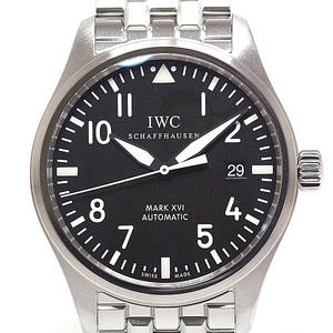 IWC Men's Watch Pilot Classic Mark XVI (16) IW325504 Black (Black) Dial