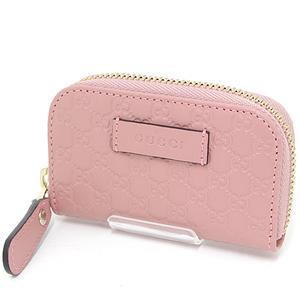 Gucci GUCCI Micro Guccisima Coin Purse Pink Beige 449896 Mini Purses Outlet New