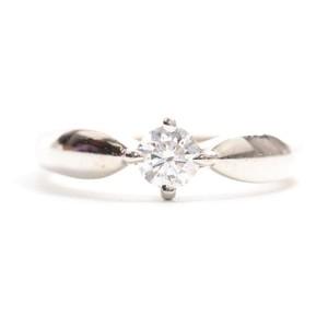 Bvlgari Dedicata A Venice Platinum 950 Diamond Engagement Ring Carat/0.19 Platinum