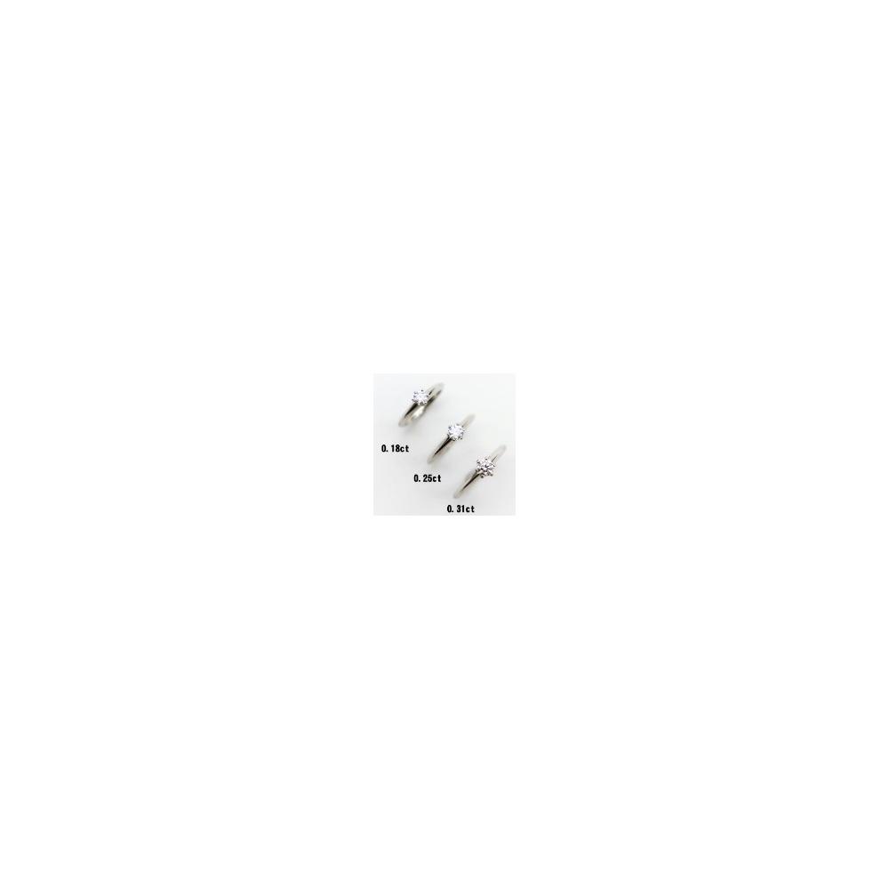 ブルガリ(Bvlgari) デディカータ・ア・ヴェネチア Pt950(プラチナ) ダイヤモンド エンゲージリング カラット/0.19 プラチナ