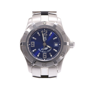 Tag Heuer Excursive Blue Dial WN13416 Ladies SS Quartz Watch AB Rank TAG Used Ginzo