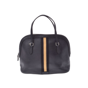 4b04a47cde14ec Gucci 2WAY handbag black Ladies calf outlet AB rank GUCCI with strap Used  Ginzo