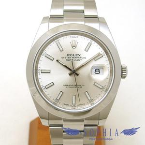 Rolex Datejust 41 Silver Dial Mens 20190308