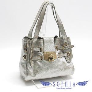 Jimmy Choo handbag metallic silver 20190304