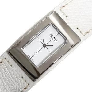 HERMES Shersch Midi CM1.210 Quartz White Ladies Watch