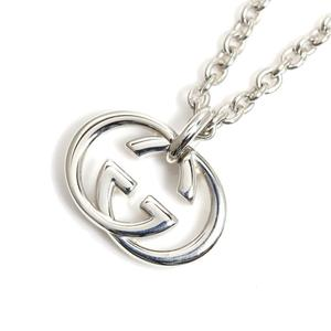 Gucci GUCCI Interlocking G Pendant SV925 Ladies Mens Necklace Jewelry Finished