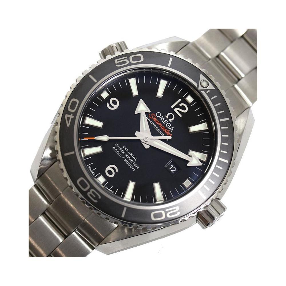 Omega OMEGA Seamaster Planet Ocean 600M 232.30.38.20.01.001 Coaxial Black Men's Ladies Watch