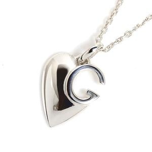 Gucci GUCCI G Heart Necklace 233963 SV925 Ladies Pendant Jewelry Finished