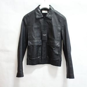 Imported from Europe Saint Laurent Paris SAINT LAURENT PARIS Riders jacket leather Y5KP1 black 48 men