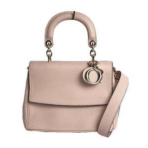 Christian Dior Bidior 2WAY handbag M0981PTRL Pink beige Gold hardware Women