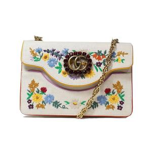 Gucci GUCCI Chain Shoulder Bag 499617 Canvas Women