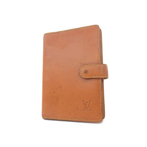 LOUIS VUITTON Louis Vuitton Nomad Agenda PM Notebook cover 6 ring brown system camel [20180228]