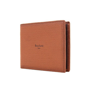 Berluti Berrutti Leather Two-fold wallet Wallet Brown [20171117]