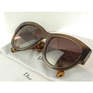 Christian Dior Flanelle 1 sunglasses brown 305HA [20170410]
