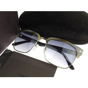 TOM FORD Tom Ford square frame Leona sunglasses eyewear gray system black 60B 57 □ 18 145 2 [20180518]