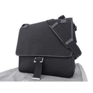 Christian Dior Canvas Messenger Bag Shoulder Black [20180608]