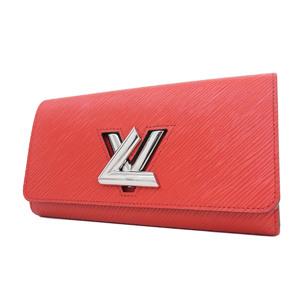 ルイ・ヴィトン(Louis Vuitton) LOUIS VUITTON ルイヴィトン ポルトフォイユルイーズ 長財布 ウォレット エピ ツイストロック 赤 コクリコ M61179 [20180705]