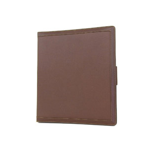 GUCCI Gucci Leather Diary Agenda Notebook Cover Brown [20180731c]