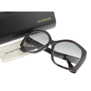BALENCIA GA Balenciaga Butterfly Frame Sunglasses Eyewear Dark brown 55 □ 17 140 [20180710]