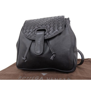 BOTTEGA VENETA Bottega Veneta Intrecherto Backpack Black [20180813]