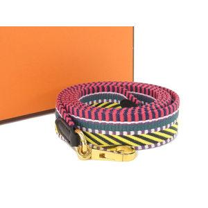 HERMES Hermes Kaval Shoulder strap multi-color A engraved [20180806]