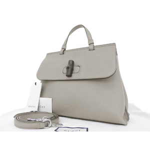 GUCCI Gucci Bamboo Daily 2way Handbag Shoulder Grange 392013 · 525040 [20180810]