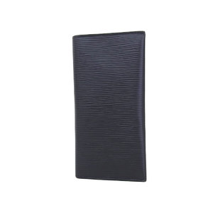 LOUIS VUITTON Louis Vuitton Epi Folded Card Case Black Noir [20180806]