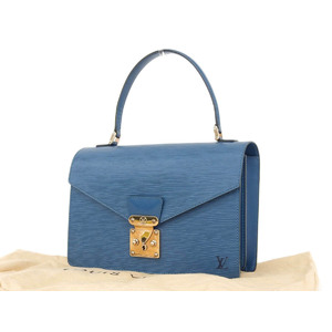 LOUIS VUITTON Louis Vuitton Epiline Concorde Handbag Toledo Blue M 52 135 [20180907]