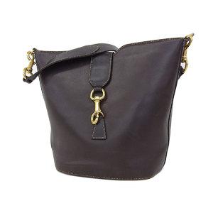 GUCCI Gucci vintage shoulder bag leather brown [20180831]