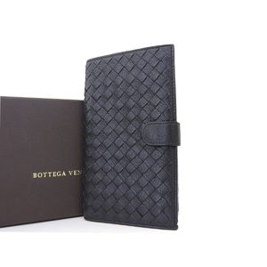 BOTTEGA VENETA Bottega Veneta Intrecherto Two-fold wallet Black [20181012]