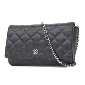 CHANEL Chanel Matrasse Chain wallet shoulder black [20180907]