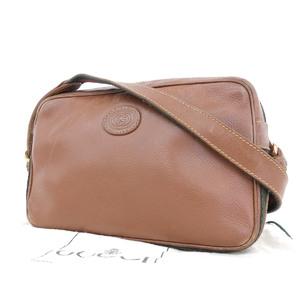 84f583d6c784d0 GUCCI Gucci interlocking sherry line vintage shoulder bag pochette brown  007/261/0052 [