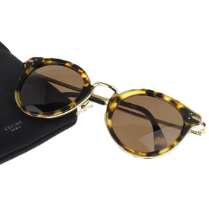 CELINE Celine Boston frame leopard sunglasses eyewear print CL41373 / S 48 □ 26 140 [20181012]