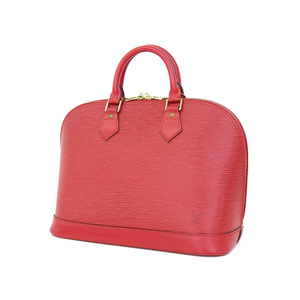 LOUIS VUITTON Louis Vuitton Epi Line Alma Handbag Red Castile M5214E [20181018]