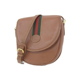 GUCCI Gucci Sherry Line Interlocking Vintage Pochette Shoulder Bag Brown 007/261/0079 [20181018]