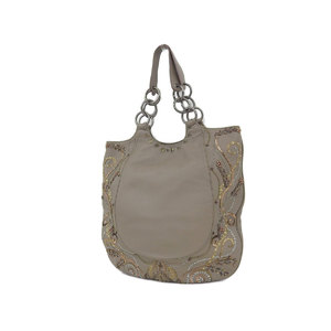 Anya Hindmarch Hind March Sequin Chain Handbag Shoulder Leather Grange [20181018]