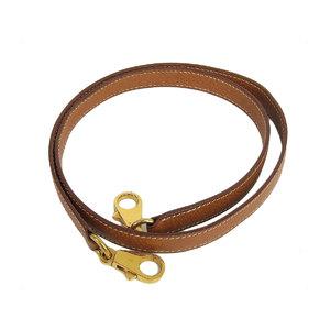 HERMES Hermes Kelly shoulder for strap pigskin pig brown gold hardware [20190117]