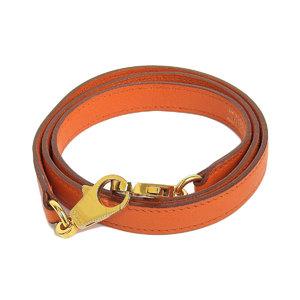 HERMES Hermes Kelly shoulder for the strap Vaugariba Orange Gold hardware [20190117]
