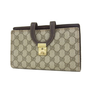 GUCCI Gucci GG coated canvas vintage jewelry case clutch bag second beige [20181102]