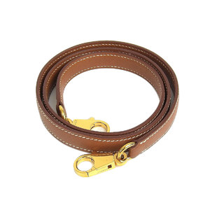 HERMES Hermes Kelly shoulder for the strap Kushuber Vaux Epson Brown Gold hardware [20190117]