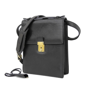 GUCCI Gucci Old 2way Shoulder Bag Leather Black Vintage [20181130]