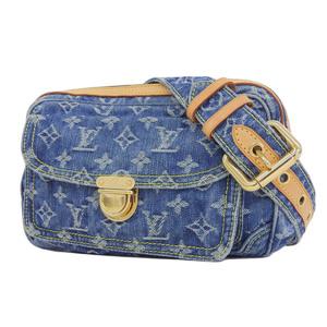 ルイ・ヴィトン(Louis Vuitton) LOUIS VUITTON ルイヴィトン モノグラムデニム バムバッグ ボディバッグ ウエストポーチ 青 ブルー M95347 [20190124]