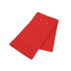 LOUIS VUITTON Louis Vuitton 100% cashmere with pocket Muffler Red shawl