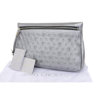 Jimmy Choo Leather Bag Silver